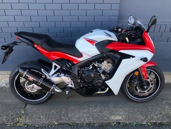 2016 HONDA CB650F ABS (CB650FA) Red