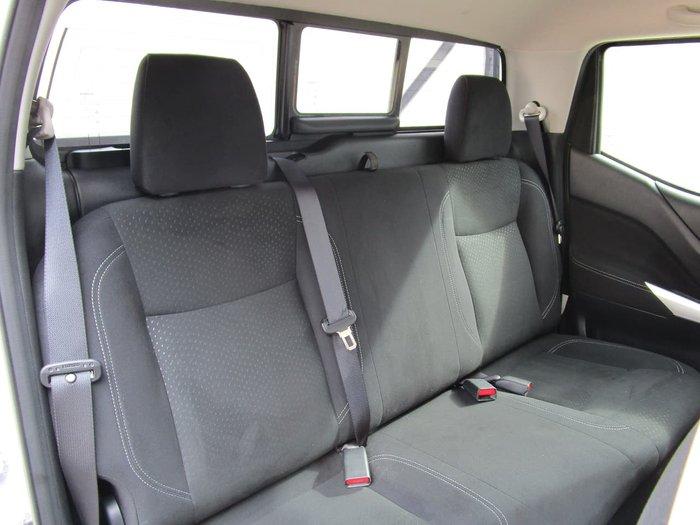 2018 Nissan Navara ST D23 Series 3 4X4 Dual Range Silver