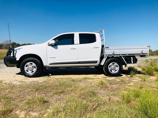 2015 Holden Colorado LS RG MY15 WHITE