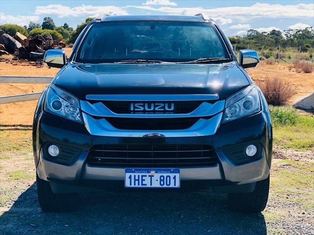 2016 Isuzu MU-X LS-T MY15 4X4 Dual Range BLACK