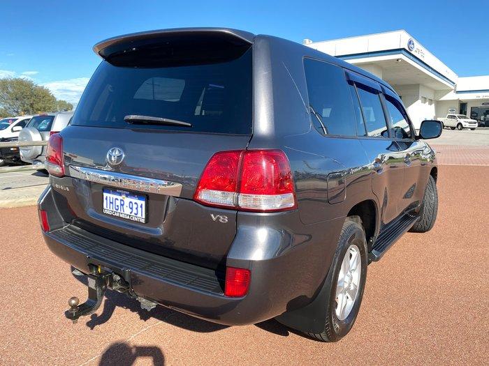 2011 Toyota Landcruiser Sahara VDJ200R MY10 4X4 Constant Graphite