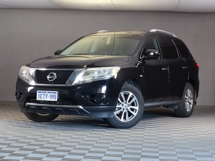 2014 Nissan Pathfinder ST R52 MY14 4X4 On Demand Black Obsidian