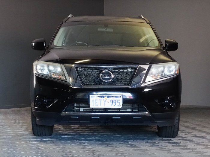 2014 Nissan Pathfinder ST R52 MY14 4X4 On Demand Black Obsidian