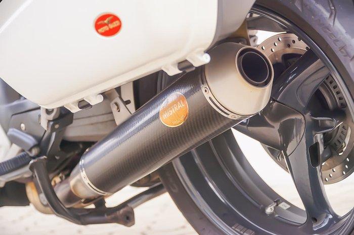 2011 MOTO GUZZI NORGE 1200 8V GT ABS White