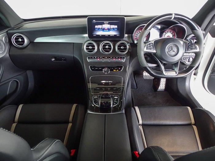 2017 Mercedes-Benz C-Class C63 AMG S C205 White