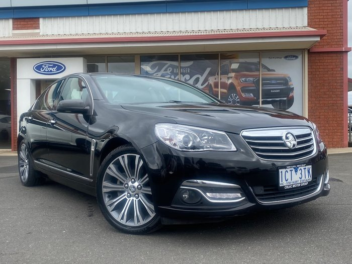 2014 Holden Calais V VF MY14 Black