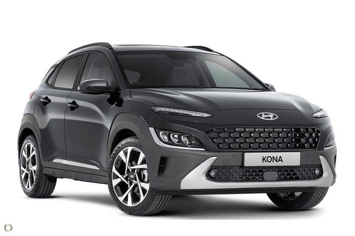 2021 Hyundai Kona Highlander OS.V4 MY21 Dark Knight