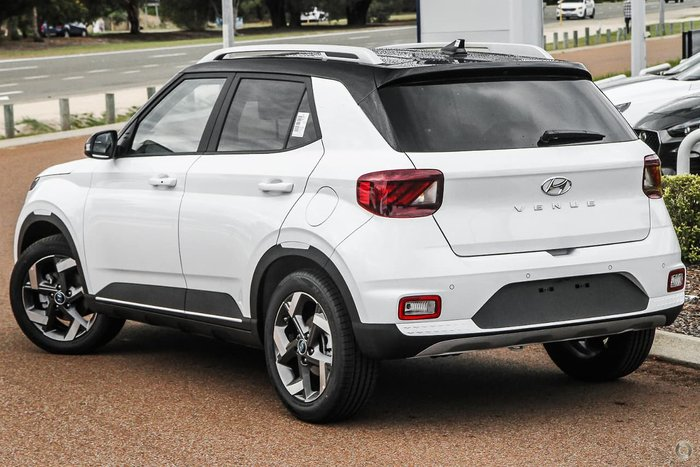 2021 Hyundai Venue Elite QX.V3 MY21 Polar White