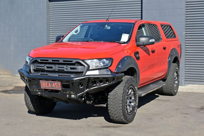 2018 Ford Ranger XLT PX MkIII MY19 4X4 Dual Range Race Red
