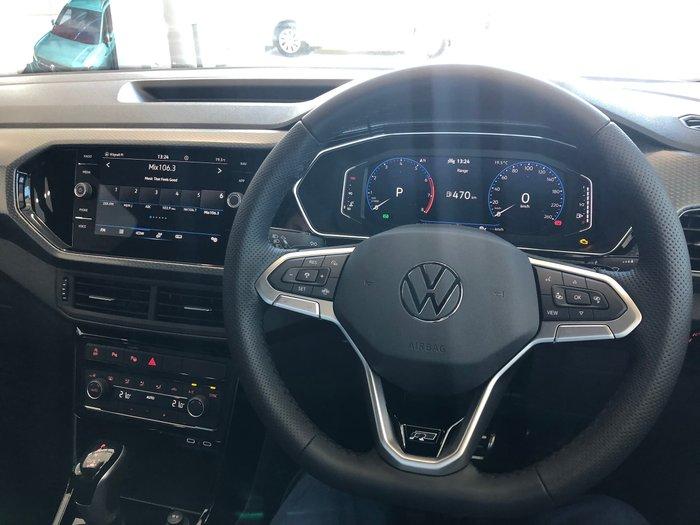 2021 Volkswagen T-Cross 85TSI Style C1 MY21 Deep Black