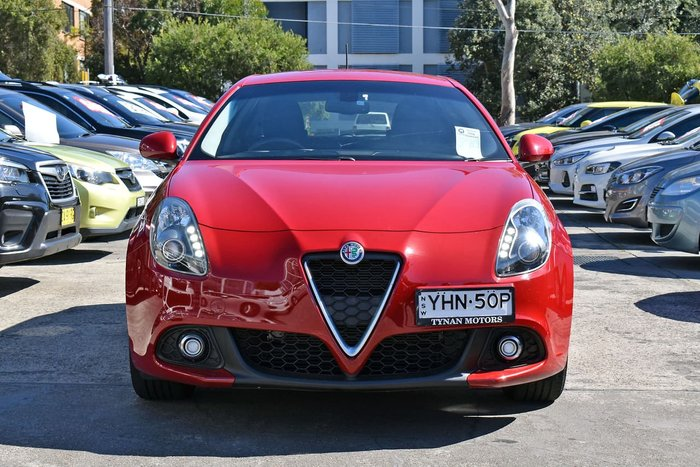 2017 Alfa Romeo Giulietta Super Series 2 Red