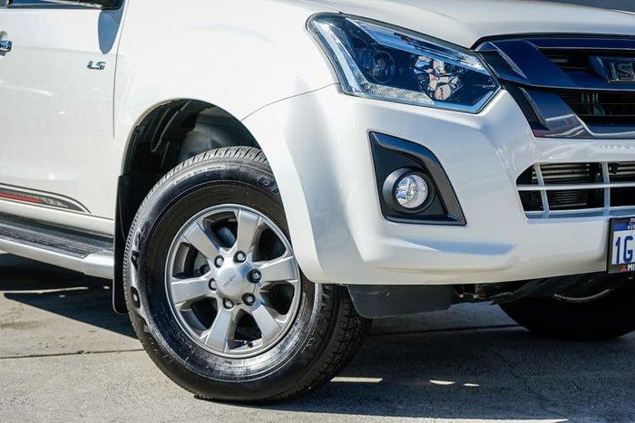 2017 Isuzu D-MAX X-RUNNER MY17 4X4 Dual Range Pearl White