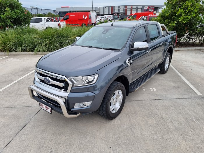 2016 Ford Ranger XLT PX MkII 4X4 Dual Range Meteor Grey