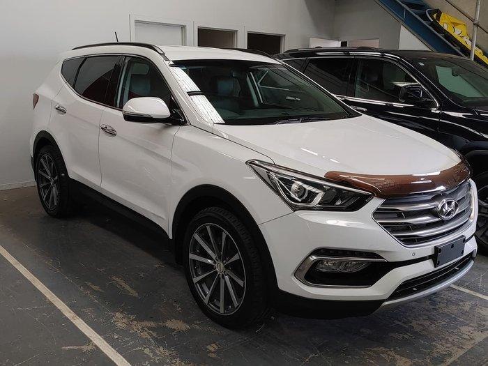 2015 Hyundai Santa Fe Elite DM3 Series II MY16 4X4 On Demand White