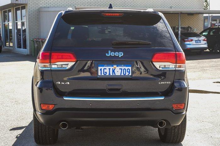 2017 Jeep Grand Cherokee Limited WK MY17 4X4 Dual Range Blue