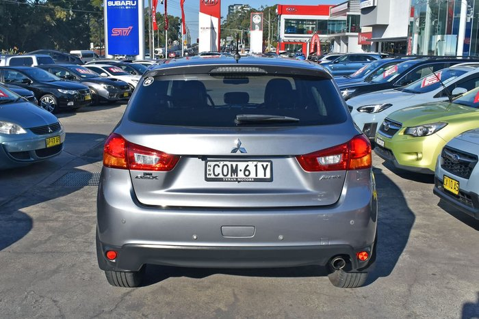 2013 Mitsubishi ASX Aspire XB MY13 Grey