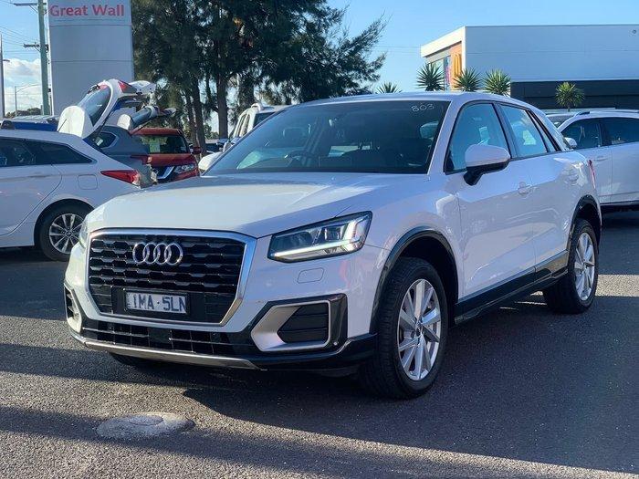 2018 Audi Q2 35 TFSI design GA MY19 White
