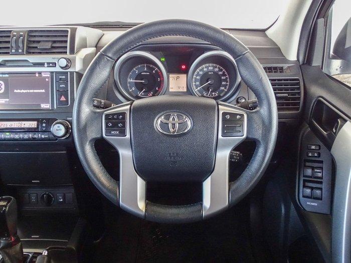 2015 Toyota Landcruiser Prado GXL KDJ150R MY14 4X4 Dual Range Silver Pearl