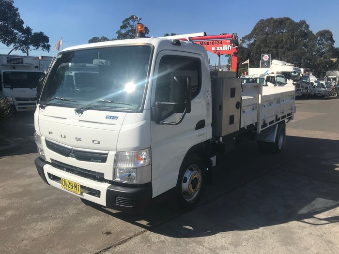 2017 FUSO CANTER 815 WIDE WHITE