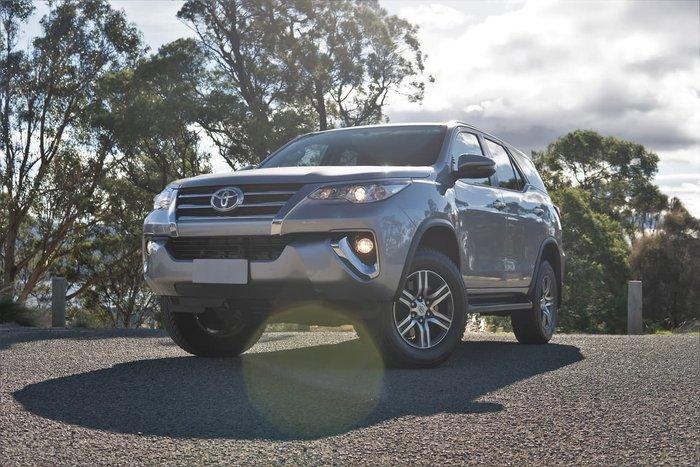 2017 Toyota Fortuner GXL GUN156R 4X4 Dual Range Silver