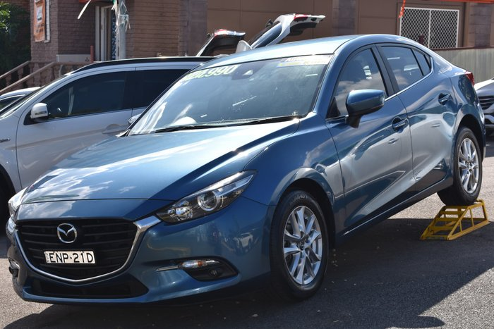 2018 Mazda 3 Touring BN Series Eternal Blue