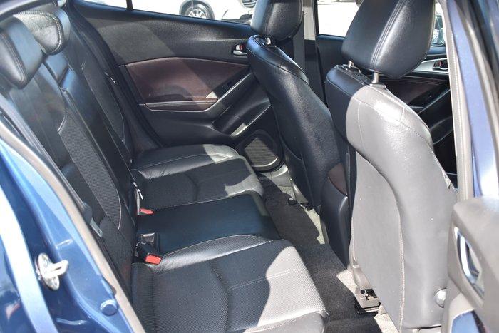 2018 Mazda 3 Touring BN Series Eternal Blue