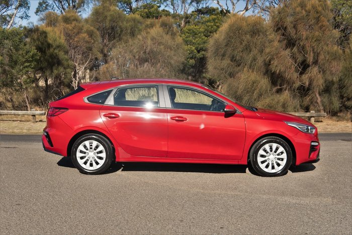 2020 Kia Cerato S BD MY21 Red