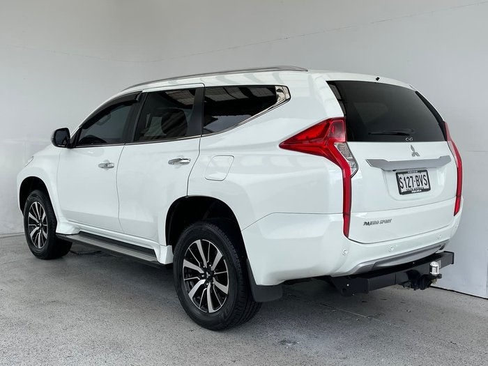 2018 Mitsubishi Pajero Sport GLS QE MY18 4X4 Dual Range White