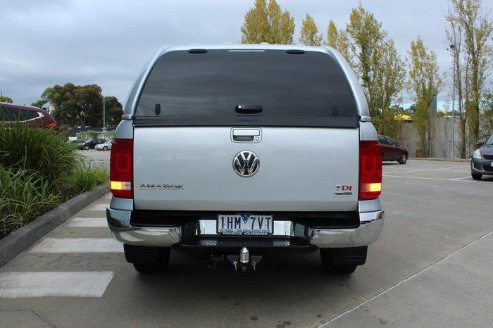 2015 Volkswagen Amarok TDI420 Highline 2H MY15 4X4 Constant Silver