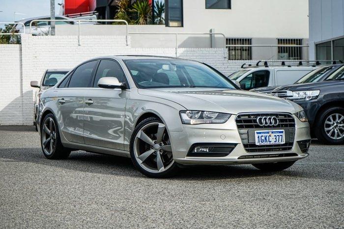 2012 Audi A4 B8 MY13 Silver