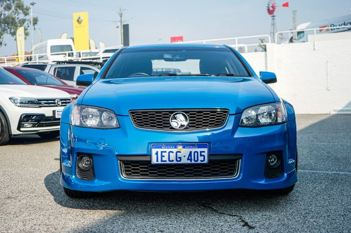 2012 Holden Commodore SV6 VE Series II MY12.5 Blue