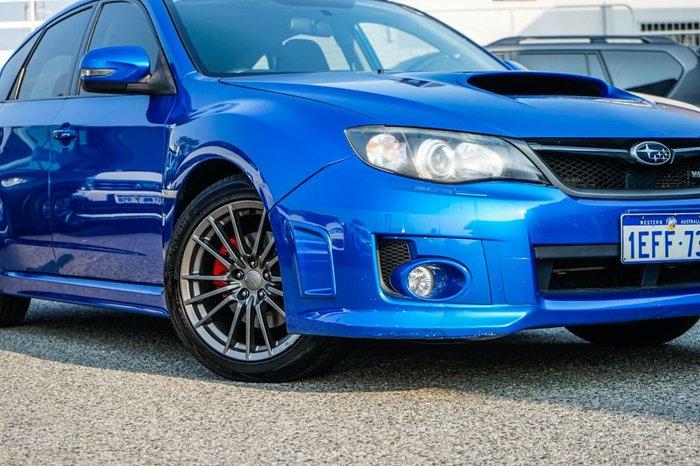 2013 Subaru Impreza WRX G3 MY14 AWD WR Blue