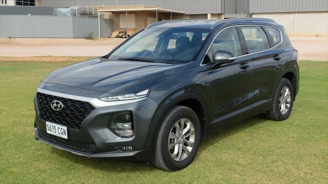 2018 Hyundai Santa Fe Active TM MY19 4X4 On Demand Grey