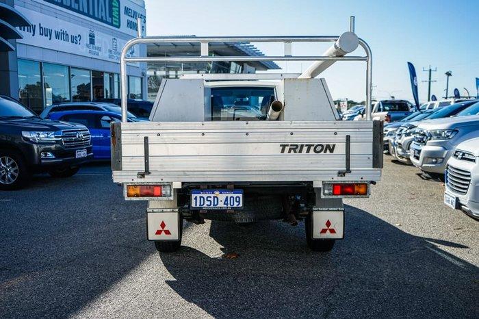 2011 Mitsubishi Triton GL MN MY11 White