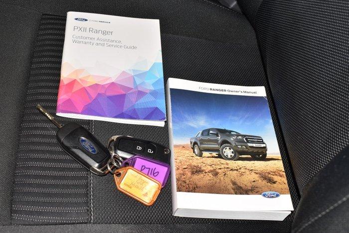 2017 Ford Ranger XLT PX MkII 4X4 Dual Range Magnetic