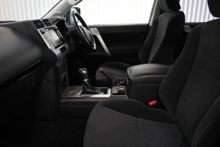 2018 Toyota Landcruiser Prado GXL GDJ150R 4X4 Dual Range Peacock Black