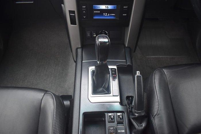 2010 Toyota Landcruiser Prado VX KDJ150R 4X4 Constant Silver