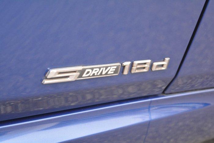 2013 BMW X1 sDrive18d E84 LCI MY14 Le Mans Blue