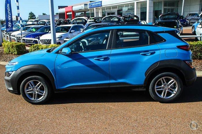 2021 Hyundai Kona OS.V4 MY21 Surfy Blue