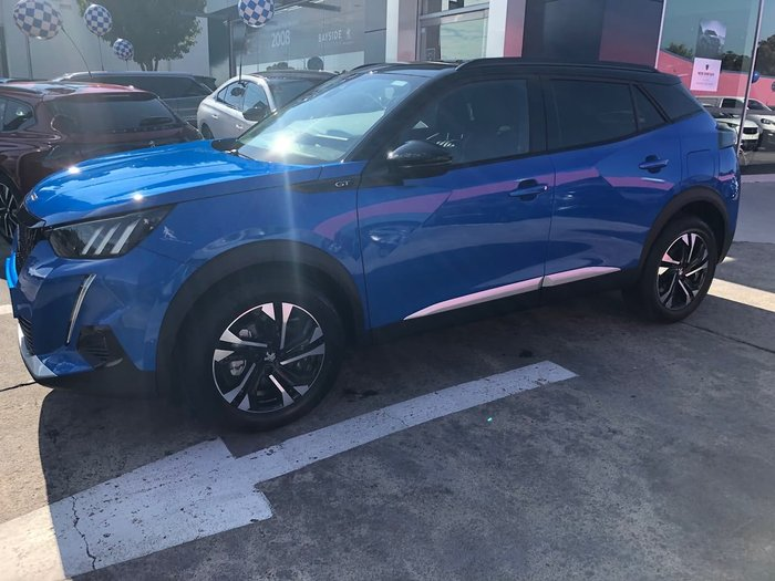 2020 Peugeot 2008 GT P24 MY21 Blue