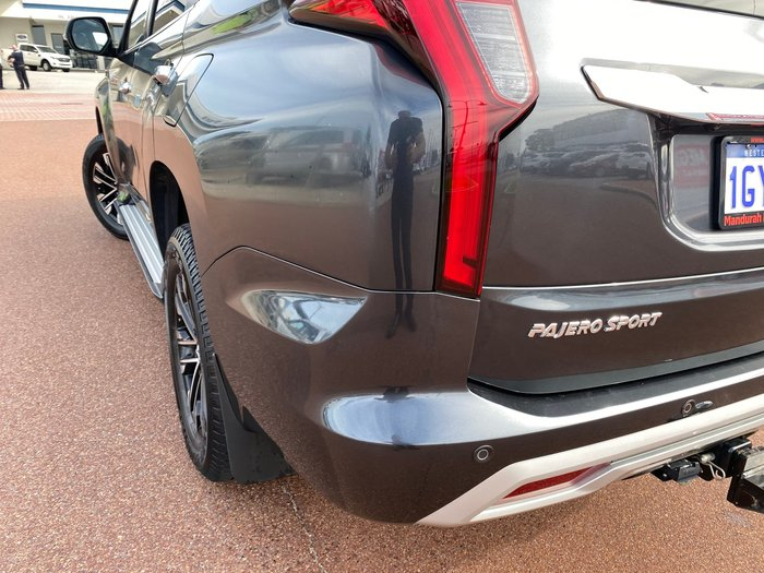 2020 Mitsubishi Pajero Sport GLS QF MY20 4X4 Dual Range Graphite Grey