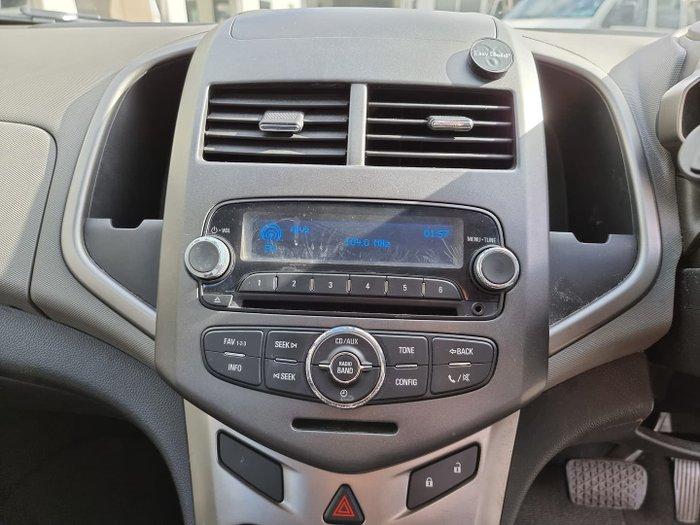 2011 Holden Barina TK MY11 Mercury Silver