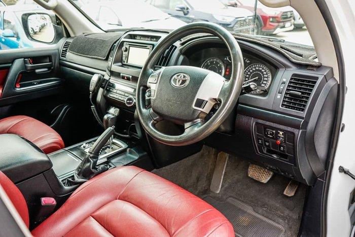 2012 Toyota Landcruiser GXL VDJ200R MY12 4X4 Constant Glacier White