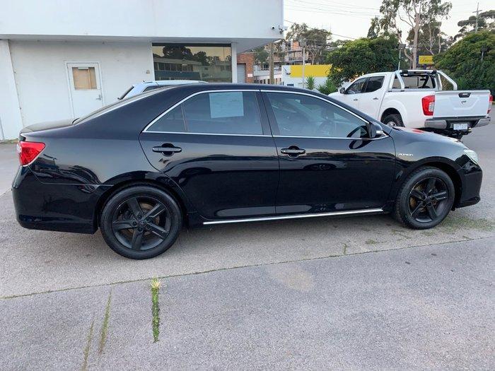2012 Toyota Aurion AT-X GSV50R Eclipse Black
