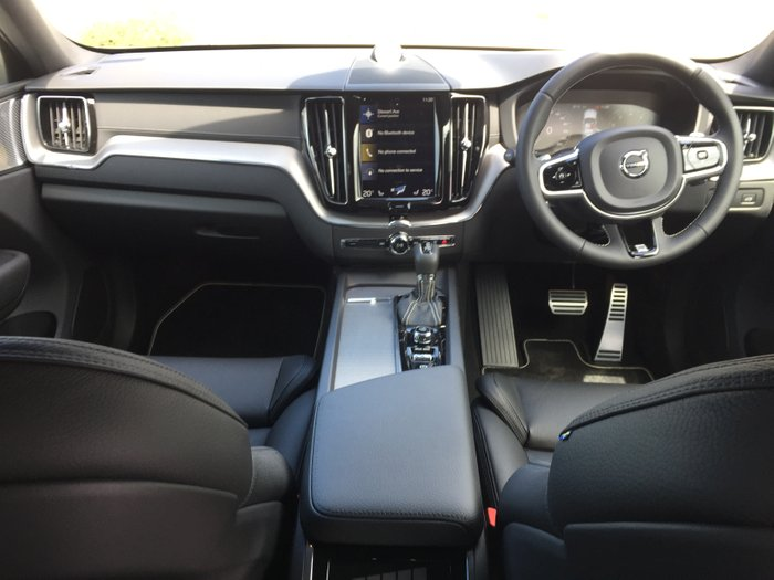 2019 Volvo XC60 T6 R-Design MY19 Four Wheel Drive Bright Silver Metallic