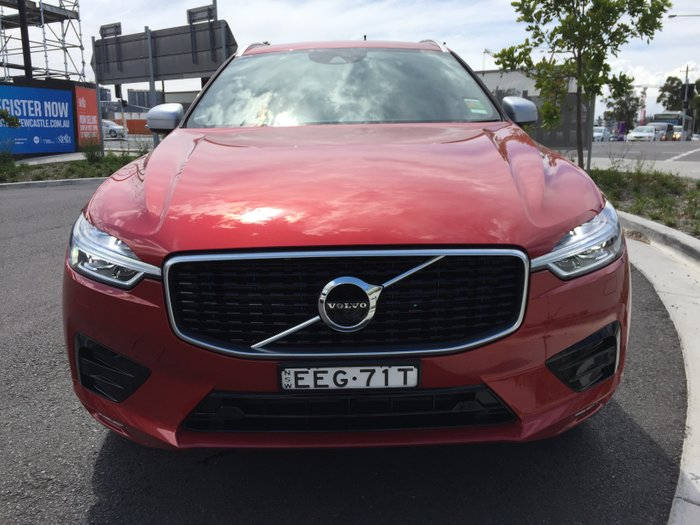 2019 Volvo XC60 D5 R-Design MY19 Four Wheel Drive Fusion Red