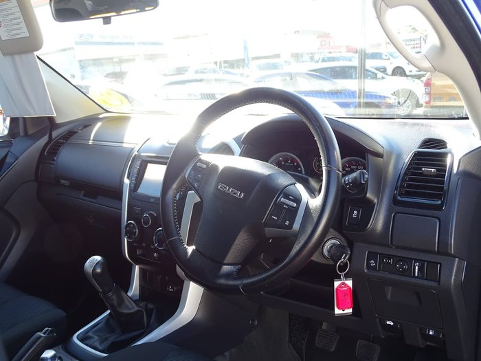 2018 Isuzu D-MAX LS-M MY18 4X4 Dual Range Blue