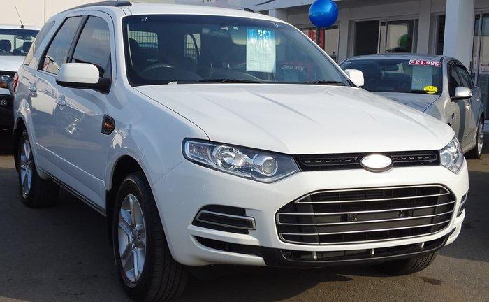2013 Ford Territory TX SZ White