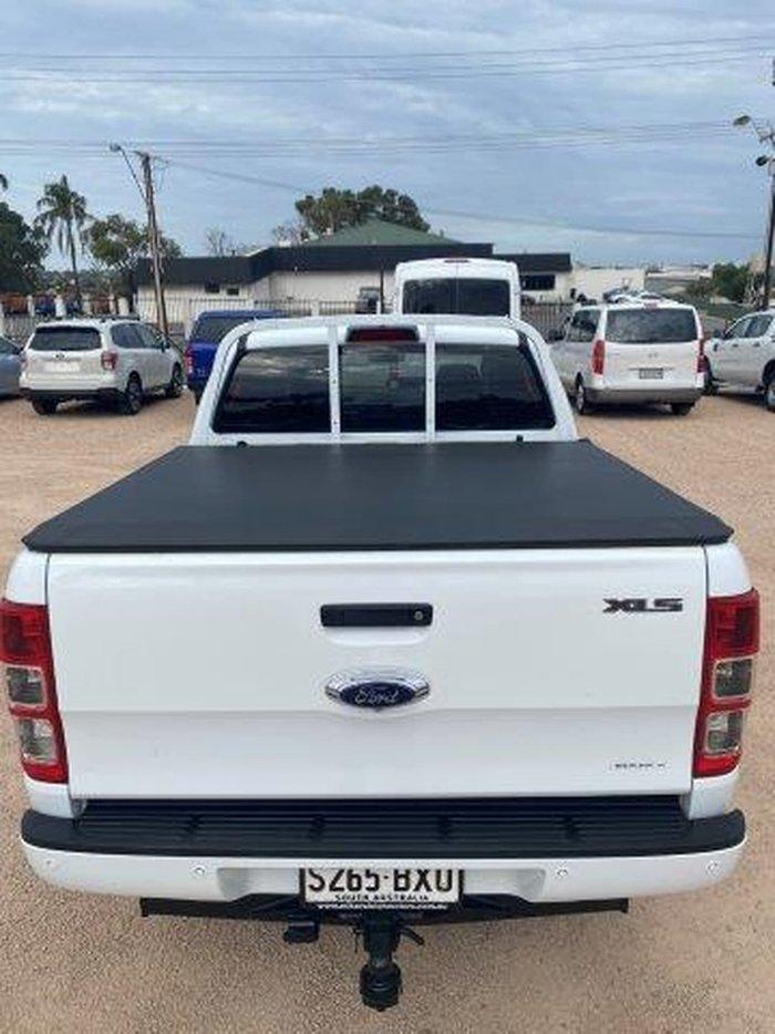 2018 Ford Ranger XLS PX MkIII MY19 4X4 Dual Range White