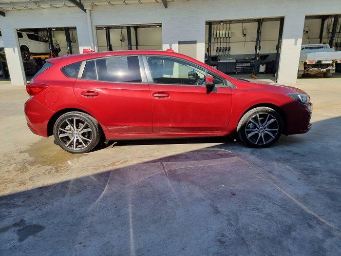 2017 Subaru Impreza 2.0i Premium G5 MY17 AWD Red